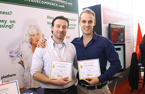Maxim godin, Victor Levitin - receiving awards from eBay