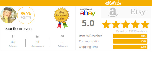 social proof in ebay listings with good feedbacks