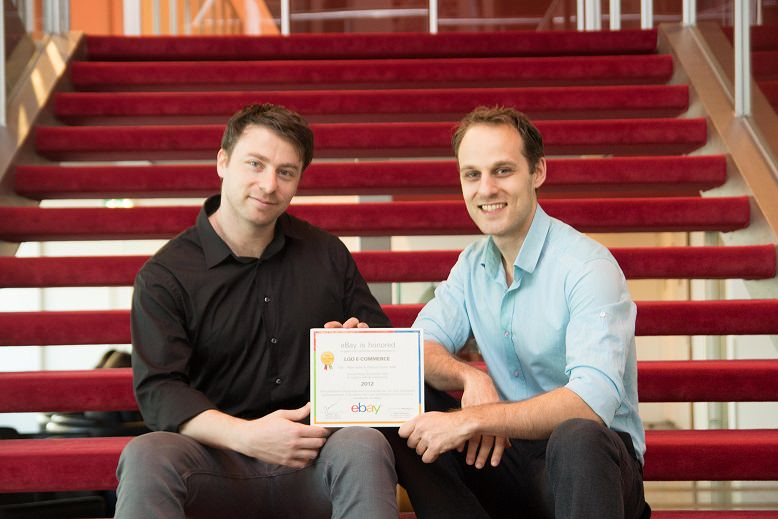 Max and Vic win eBay awards after implementing the lean startup method