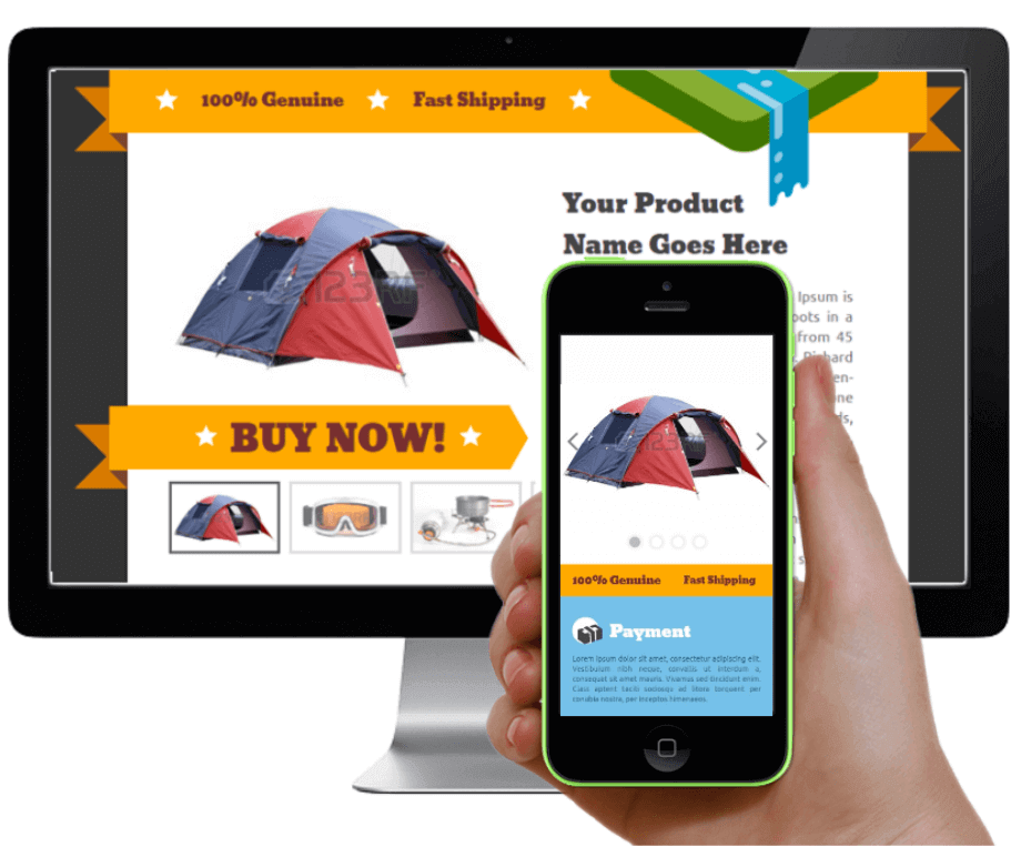 Easiest And Quickest Ways To Create EBay Responsive Template Listings - Mobile friendly ebay template