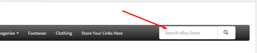 Active content example - Search box