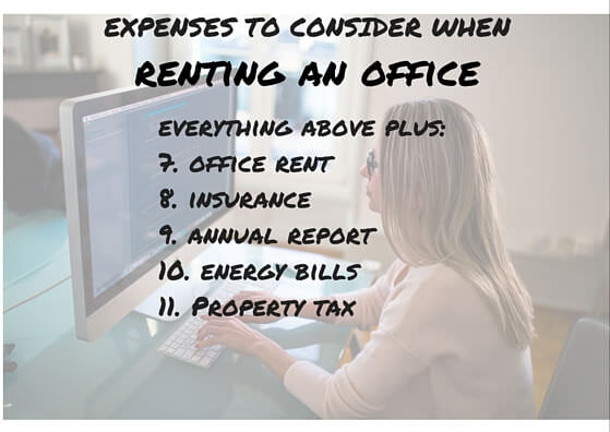 expenses every ebay seller should take into account when renting an office for his ebay business