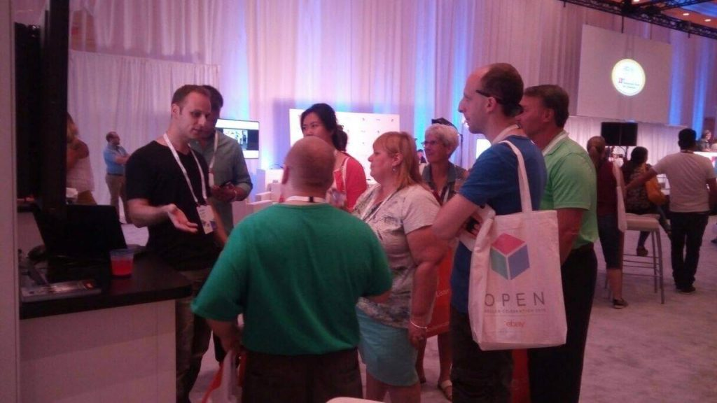 CrazyLister at the eBay open 2016 conference