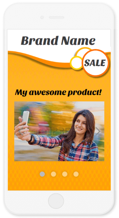 CrazyLister mobile view - ebay responsive template