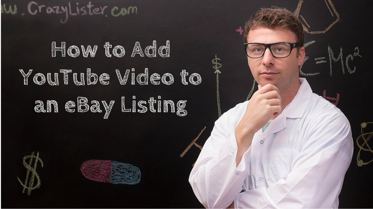 How to add youtube to ebay listing