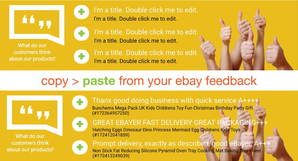 CrazyLister - copy your eBay feedbacks from eBay