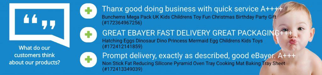 Feedback in eBay listings 3