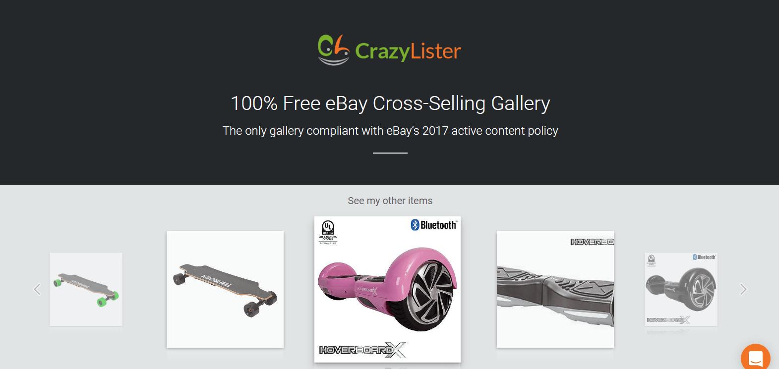 Free eBay Cross-Sell Gallery - #1 eBay Cross Selling Solution ...