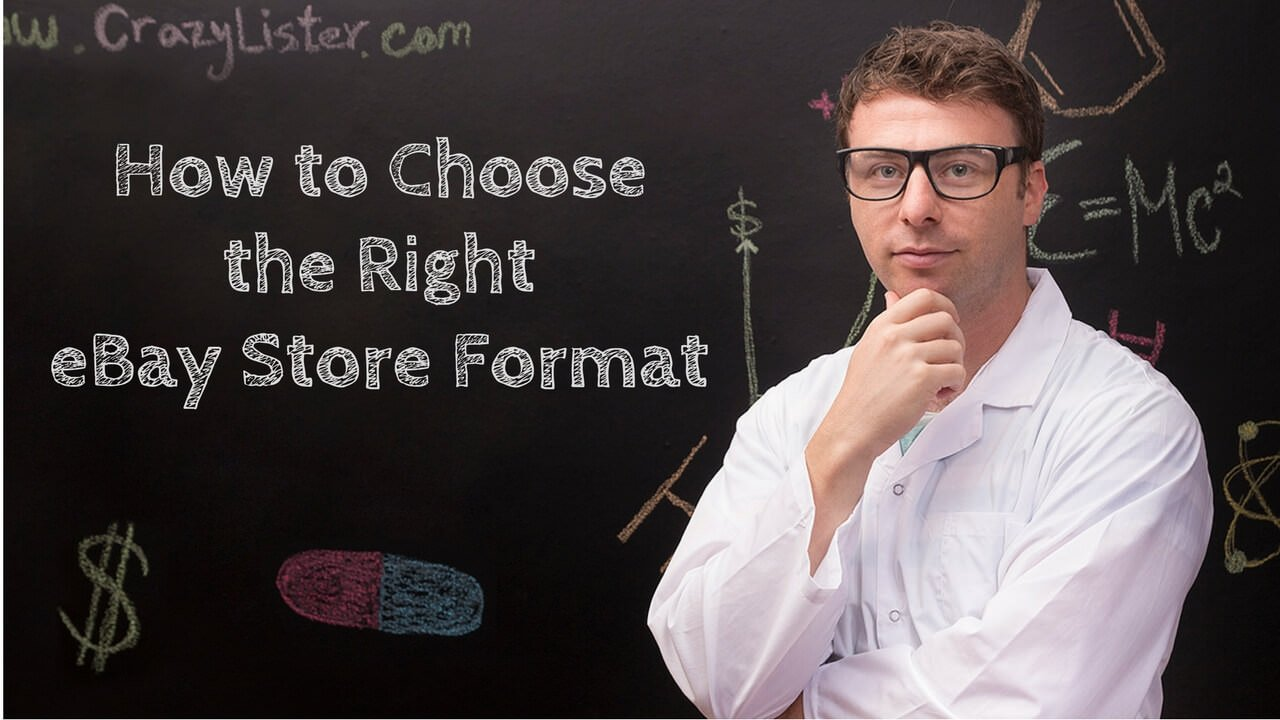 ebay doctor how to choose the right store format for your eBay business