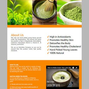 Organic Green Tea_listing