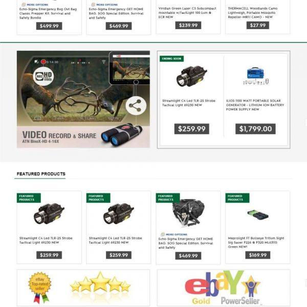 sirvival ebay store