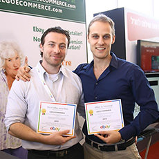 Max and Vic win eBay awards