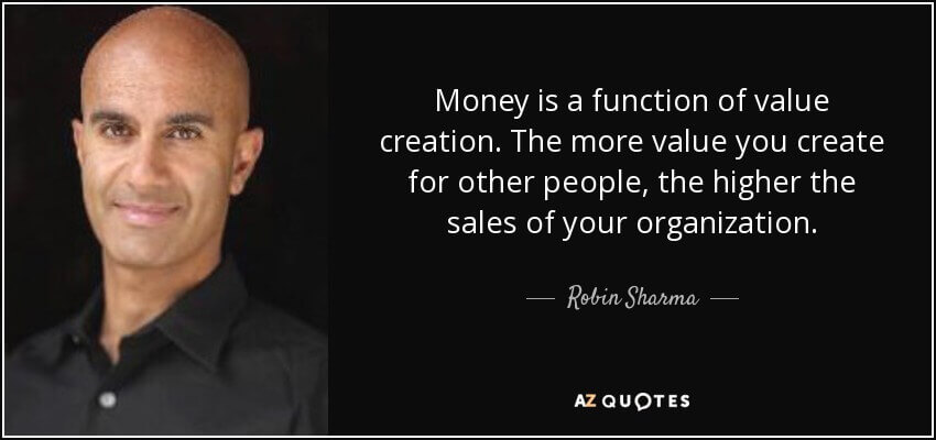 Create value to grow your sales