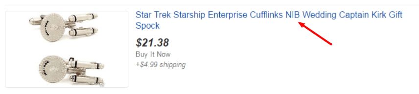 bad eBay keywords