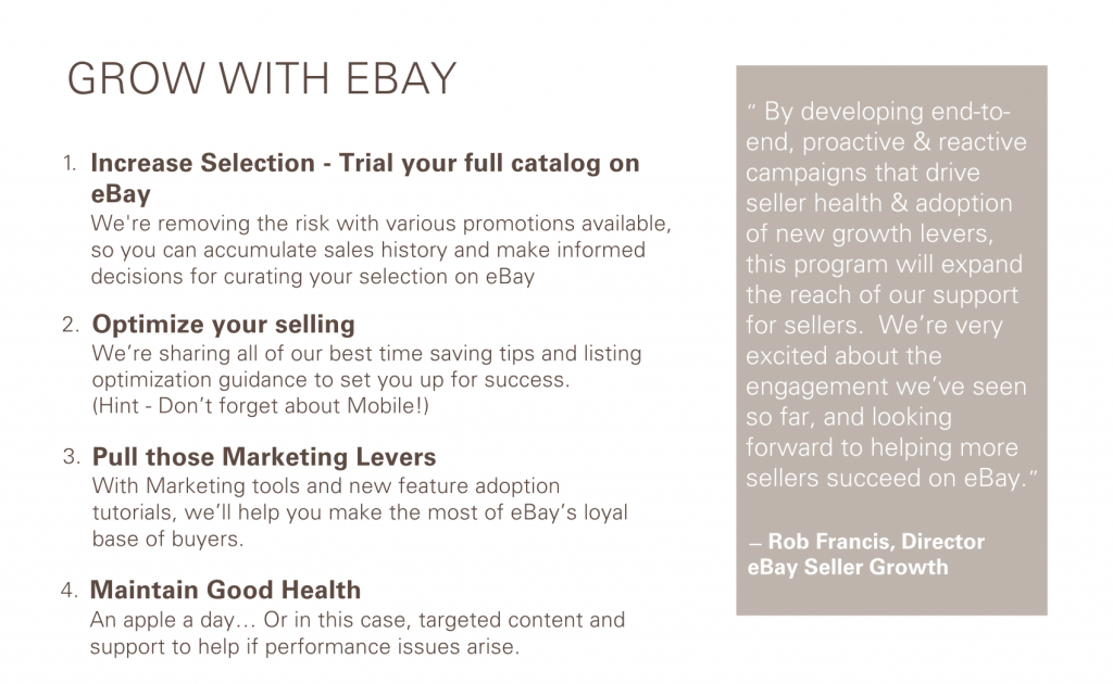 eBay Sellers Growth Program- CrazyLister