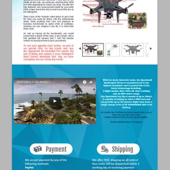 pick the best Camera Drones eBay templates