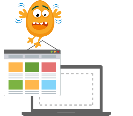 edit ebay templates with ease, no coding skills required with the drag and drop editor