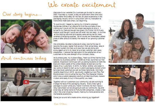 Cori O'steen from her website