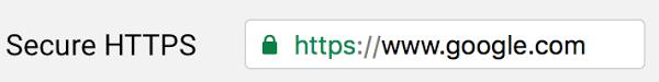 secure https url