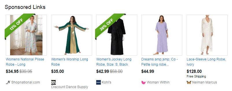 sponsored links on ebay