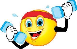 Smiley fitness logo