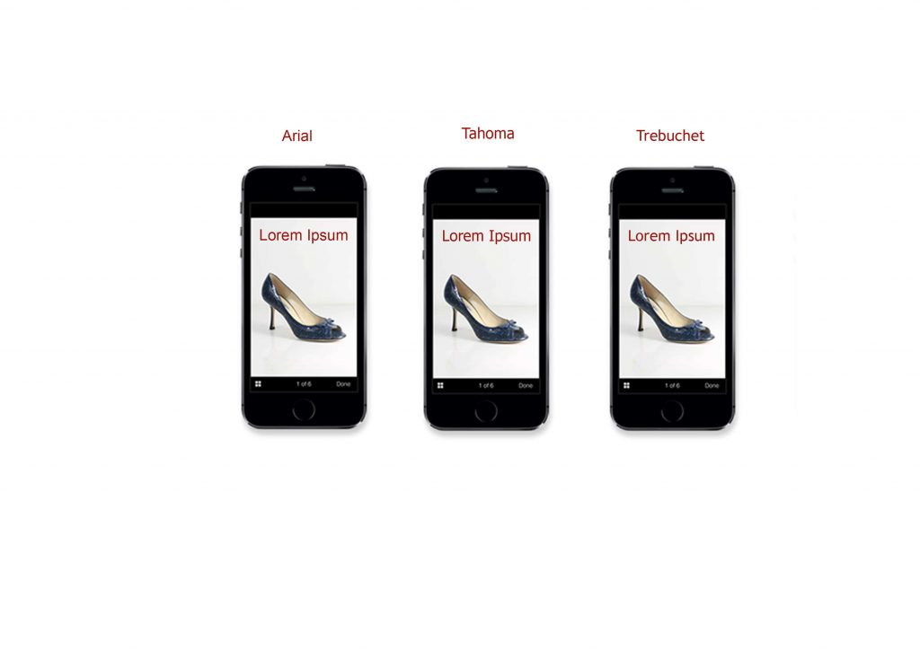 best fonts for mobile commerce