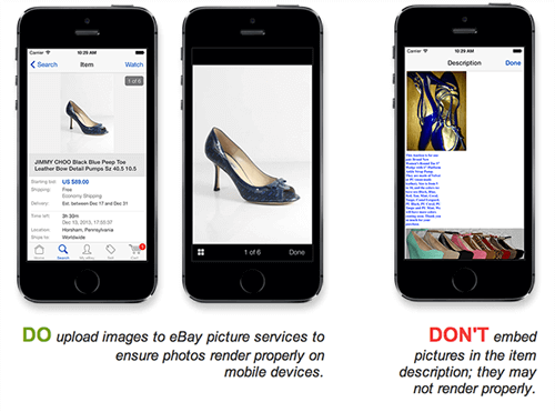 mobile commerce best images in ebay platform