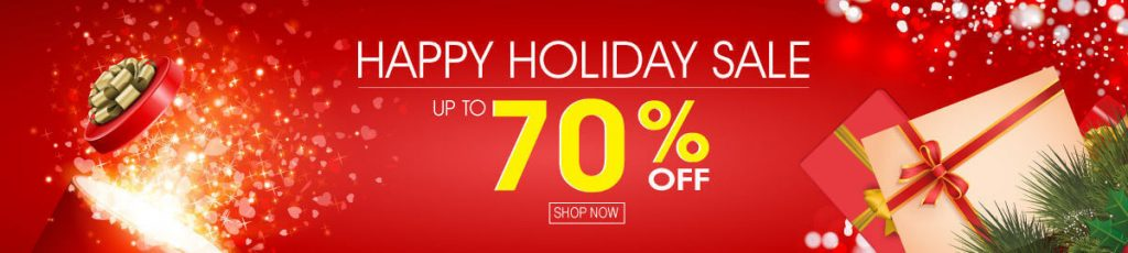 ebay store design holiday discount