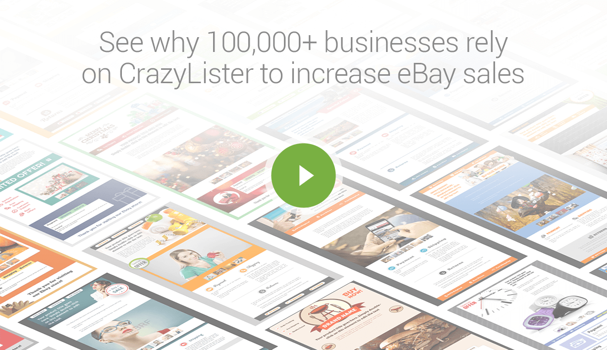 CrazyLister: Amazingly Simple eBay Listing Software