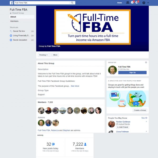 FBA Facebook Group