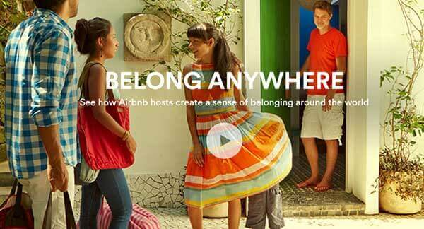 airbnb marketing example