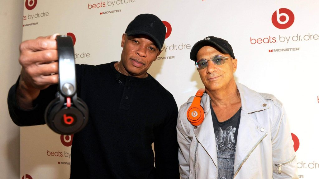 dr dre promoting beats