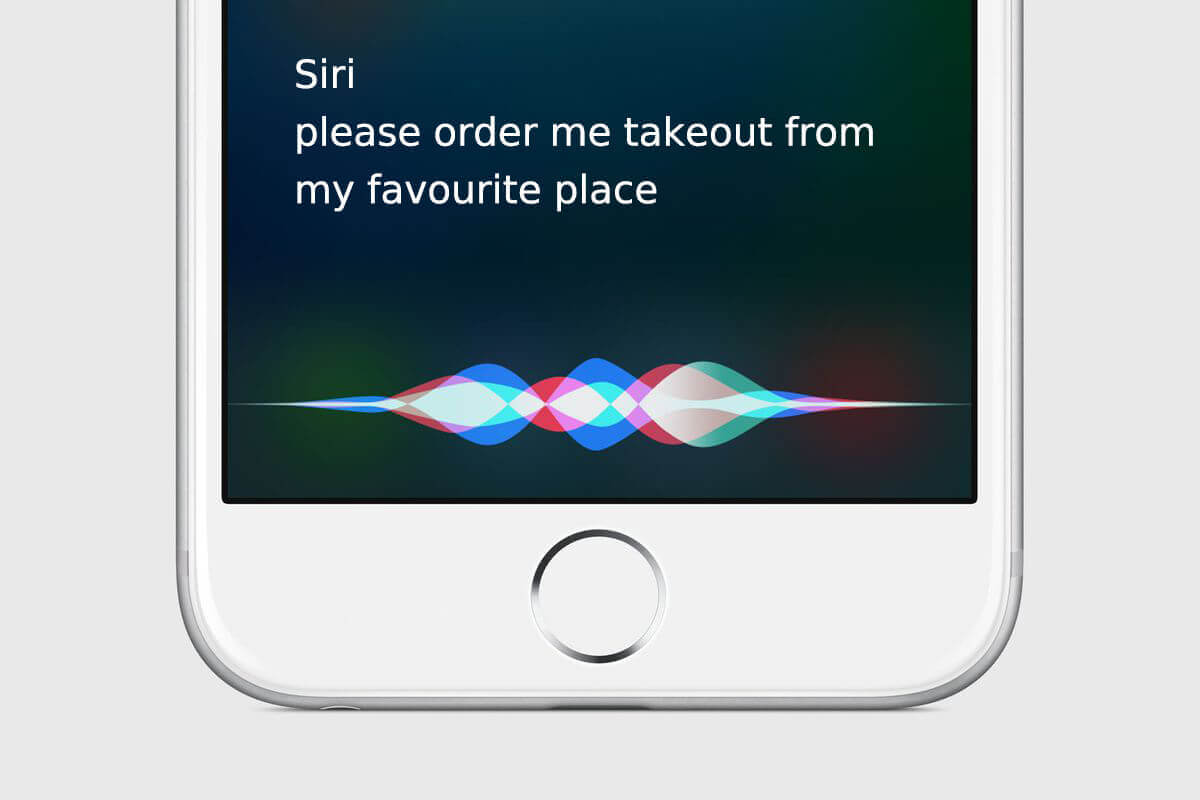 apple siri voice commerce device