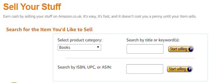 list on amazon