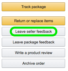 amazon seller feedback